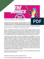 Mestre Comics 2012 - CS conclusivo