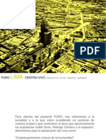 Lima Centro Vivo VP 01