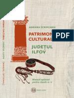 "Manual ""Patrimoniul cultural din Judetul Ilfov"" (Adriana Scripcariu)"