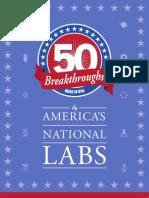 50 Breakthroughs