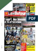 LE BUTEUR PDF du 30/01/2009