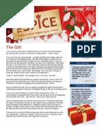 December Spice Newsletter