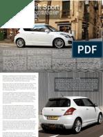 2012 Suzuki Swift Sport FULL REVIEW