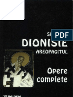 Sf. Dionisie Areopagitul-Opere Complete