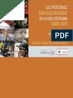 Las personas con discapacidad en la vida cotidiana: concurso de fotografía digital del INICO: Premio Fundación Grupo Norte. 2008-2012