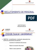 planeacion y reclutamiento de RR.HH.