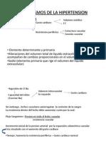 Mecanismos de La Hipertension