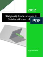 SKRIPTA STABILNOST KONSTRUKCIJA prvo izdanje_2012