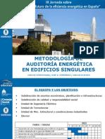Metodología de Auditoría Energética en Edificios Singulares