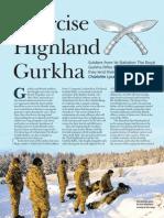 Gurkhas Stalking Feb 2012