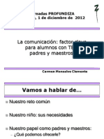 Jornadas Almagro Carmen Monsalve