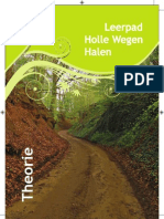Leerpad Holle Wegen Halen - theorie