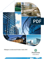 Pilkington Architectural Product Guide 2008 Product Catalog 346705