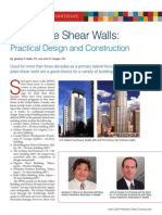 steel plate shear wall design