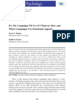 How and When Campaigns Use Emotional Appeals
