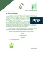 Carta Quimica