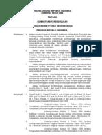 UU No.23 Tahun 2006 Tentang Administrasi Kependudukan