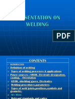 Welding Types Procedures Parameters