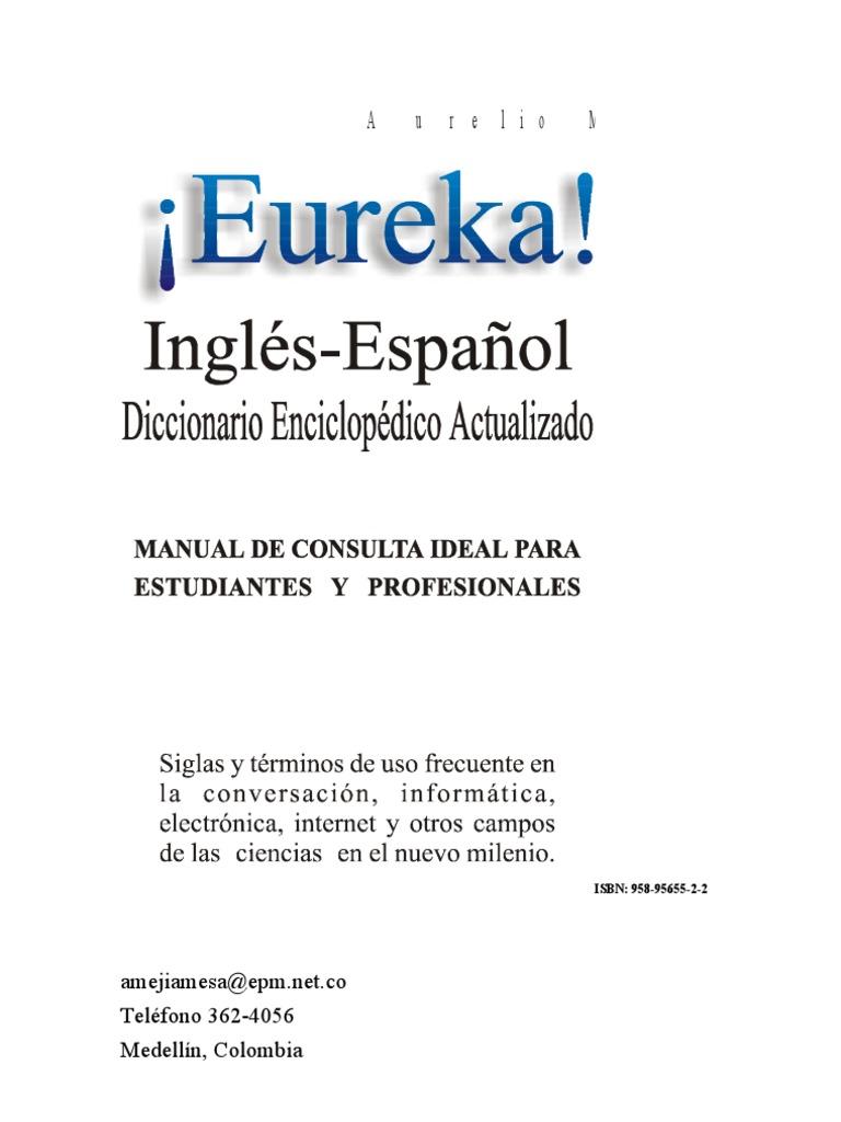 38238315 Mejia Aurelio Diccionario Eureka Ingles Espa d4fc0b58b63