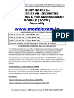 NISM Securities Operations and Risk Management Practice Test - NISM SORM