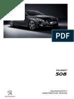 Peugeot 508 Ficha técnica-1