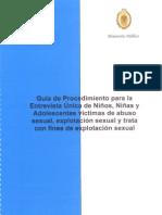 Guía de procedimientos para la evaluación del testimonio de NNA víctimas de abuso sexual