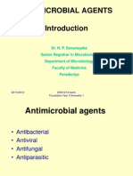An Introduction to Antimicrobials