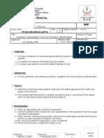 31-Nursing Assessment for Out Patient Department