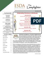 December 2012 Lamplighter