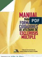 Manual para la formación de cuidadores de pacientes con esclerosis multiple
