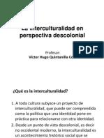La Interculturalidad en Perspectiva Descolonial-Quintanilla