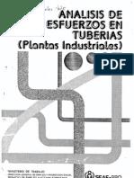 Analisis de Esfuerzos en Tuberias.plantas Industriales