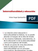 Interculturalidad y educación-Quintanilla