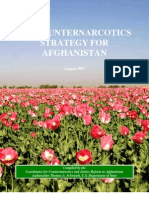 2007-08--US Counter Narcotics Strategy for Afghanistan