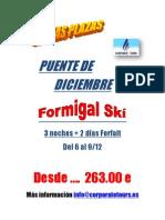 OFERTA PUENTE DE DICIEMBRE ESQUI EN FORMIGAL