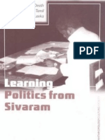 Mark P Whitaker Learning Politics From Sivaram