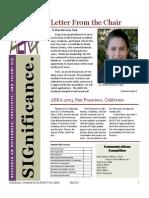 ROGCT Newsletter Fall 2012