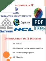 Sales Management in IT
