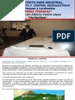 GRAN PROYECTO REPRESAMIENTO - CENTRAL HIDROELECTRICA PEÑAS CERRADAS