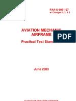 FAA-S-8081-27