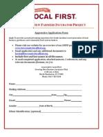 Lllf Apprenticeship Application
