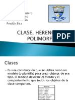 Clase, Herencia y Polimorfismo