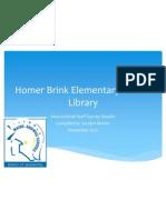 homer brink elementary staff survey results - jocelyn - final