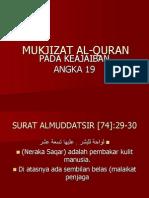 Mukjizat Al-quran Angka 19
