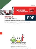 Oracle EPM at Oracle