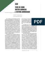 Clasificación Merceológica de Químicos Orgánicos