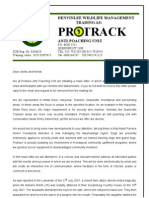Protrack newsletter - Sep 07