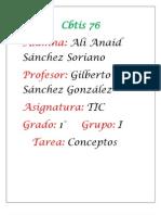 Conceptos Ali Anaid Sanchez Soriano