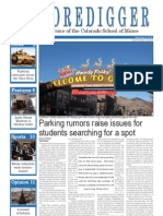 The Oredigger Issue 12 - December 3, 2012