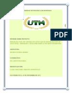 Informe Del Proyecyo de Microcontroladores